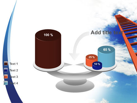 Ladder to Sky PowerPoint Template Slide 10