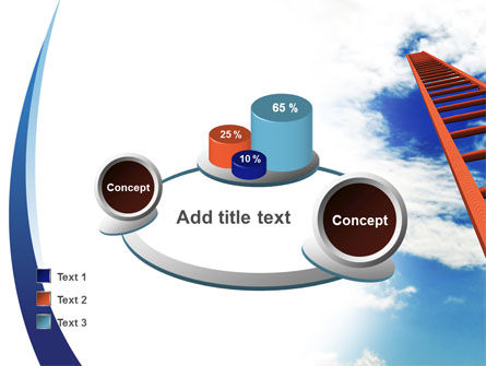 Ladder to Sky PowerPoint Template Slide 16