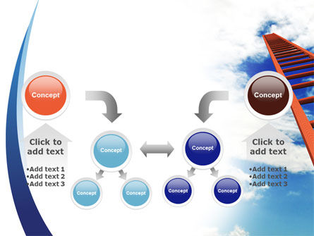 Ladder to Sky PowerPoint Template Slide 19