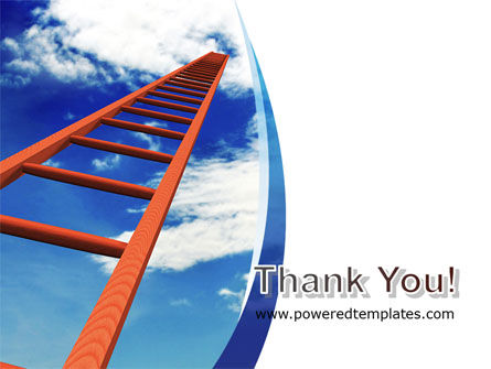 Ladder to Sky PowerPoint Template Slide 20