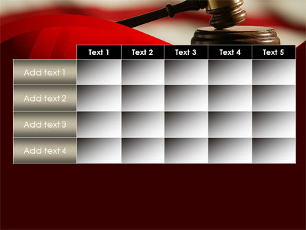 Justice and Court PowerPoint Template Slide 15