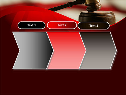 Justice and Court PowerPoint Template Slide 16