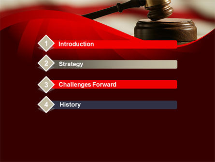 Justice and Court PowerPoint Template, Slide 3, 08943, Legal — PoweredTemplate.com