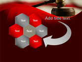 Justice and Court PowerPoint Template#11