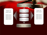 Justice and Court PowerPoint Template#13