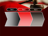 Justice and Court PowerPoint Template#16