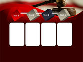 Justice and Court PowerPoint Template#18