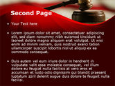 Justice and Court PowerPoint Template#2