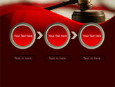 Justice and Court PowerPoint Template#5