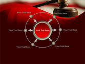 Justice and Court PowerPoint Template#7