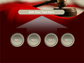 Justice and Court PowerPoint Template#8