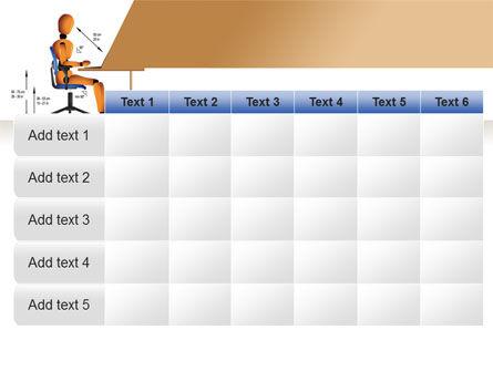 Ergonomics PowerPoint Template Slide 15