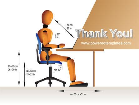 Ergonomics PowerPoint Template Slide 20
