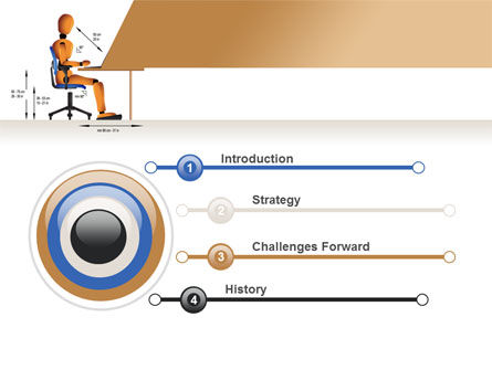 Ergonomics PowerPoint Template, Slide 3, 08944, Education & Training — PoweredTemplate.com