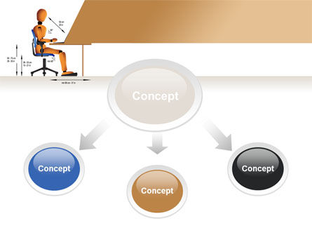 Ergonomics PowerPoint Template, Slide 4, 08944, Education & Training — PoweredTemplate.com