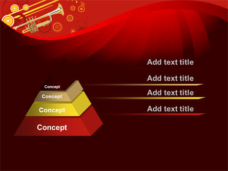 Trumpet Music PowerPoint Template Slide 12