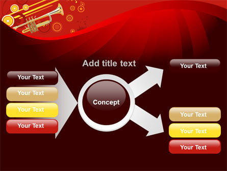Trumpet Music PowerPoint Template Slide 14