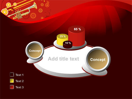 Trumpet Music PowerPoint Template Slide 16