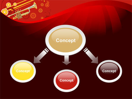 Trumpet Music PowerPoint Template Slide 4