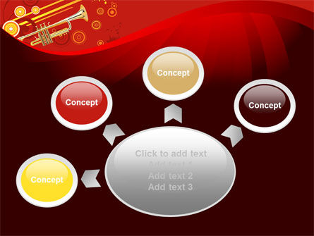 Trumpet Music PowerPoint Template Slide 7