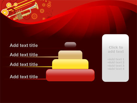 Trumpet Music PowerPoint Template Slide 8