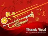 Trumpet Music PowerPoint Template#20