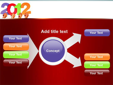 2012 PowerPoint Template Slide 14
