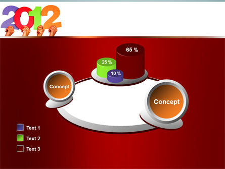 2012 PowerPoint Template Slide 16