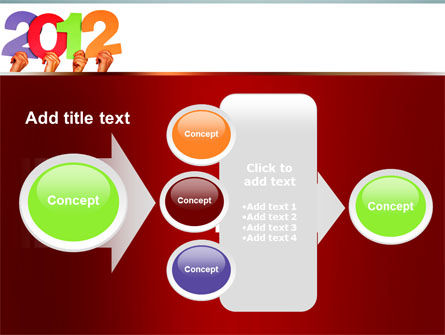 2012 PowerPoint Template Slide 17