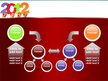 2012 PowerPoint Template Slide 19