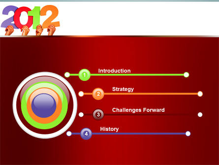 2012 PowerPoint Template Slide 3