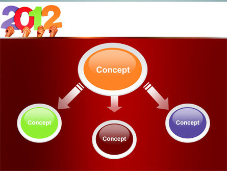 2012 PowerPoint Template Slide 4
