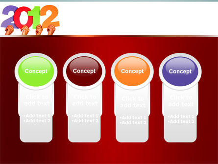 2012 PowerPoint Template Slide 5