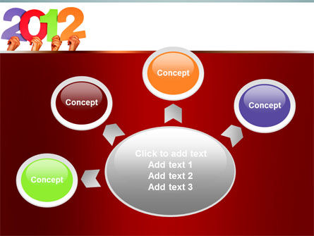 2012 PowerPoint Template Slide 7
