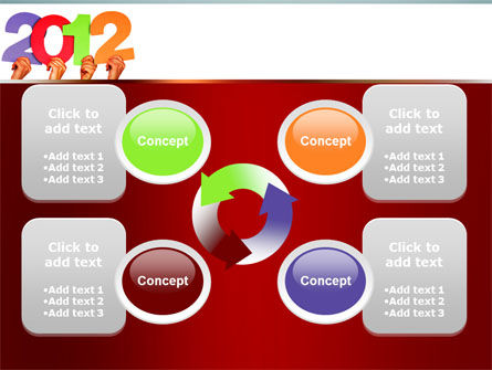 2012 PowerPoint Template Slide 9