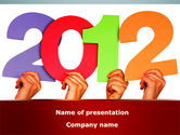 Holiday/Special Occasion: 2012 PowerPoint Template #08946