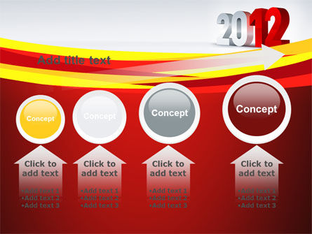 2012 Year PowerPoint Template Slide 13
