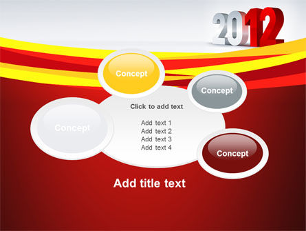 2012 Year PowerPoint Template Slide 16