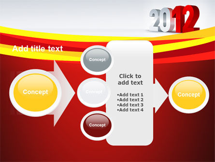 2012 Year PowerPoint Template Slide 17