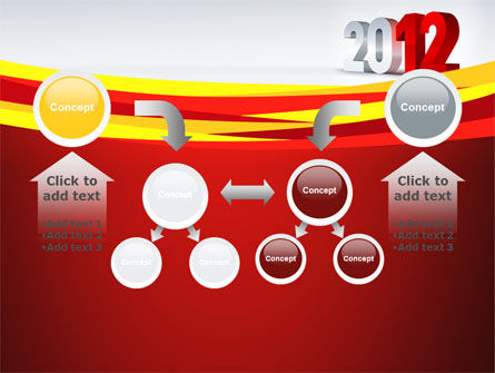 2012 Year PowerPoint Template Slide 19