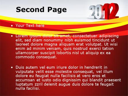 2012 Year PowerPoint Template, Slide 2, 08947, Business — PoweredTemplate.com