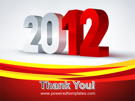 2012 Year PowerPoint Template Slide 20