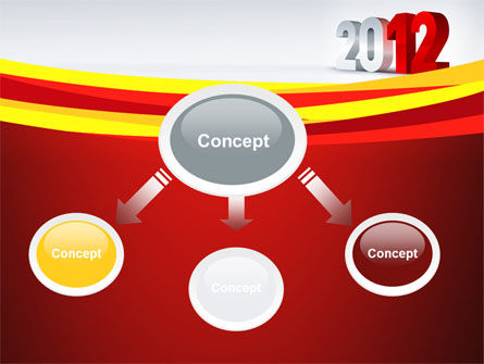 2012 Year PowerPoint Template Slide 4