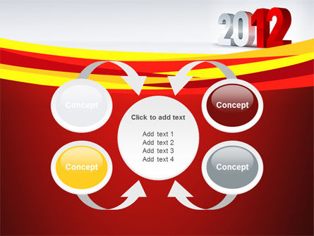 2012 Year PowerPoint Template Slide 6
