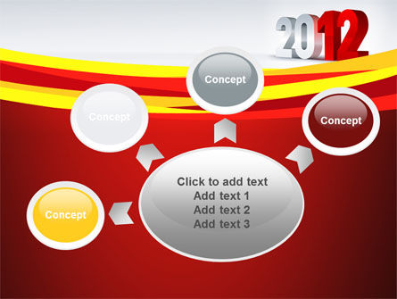 2012 Year PowerPoint Template Slide 7