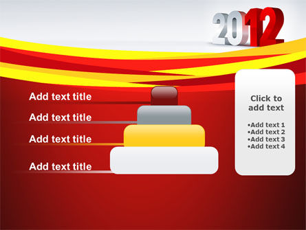 2012 Year PowerPoint Template Slide 8