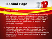 2012 Year PowerPoint Template#2