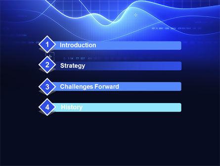 Digital Blue PowerPoint Template Slide 3