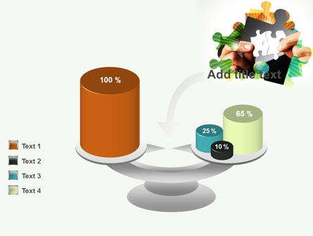 Addition Of A Puzzle PowerPoint Template Slide 10