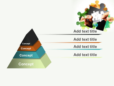 Addition Of A Puzzle PowerPoint Template Slide 12
